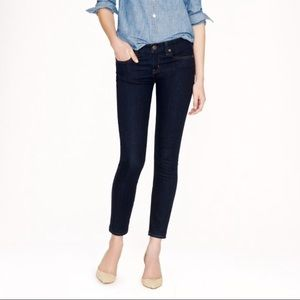 J crew toothpick 27 ankle jeans