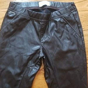 Abercrombie & Fitch Pants - Abercrombie & Fitch faux leather jegging