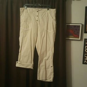 INC International Concepts Pants - Pants or capri's with just a button away
