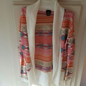 JUST REDUCED!!  Wrap style sweater