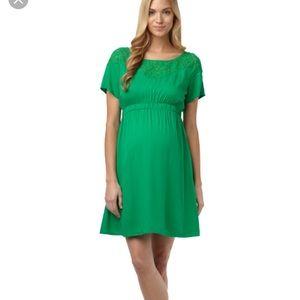 Rosie Pope Dresses & Skirts - Green Rosie Pope maternity dress