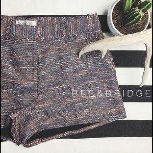 Bec & Bridge Pants - Bec & Bridge High Rise Shorts