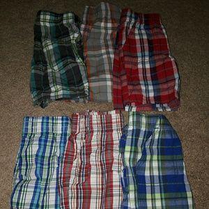 Other - 6pr 3t Plaid Shorts