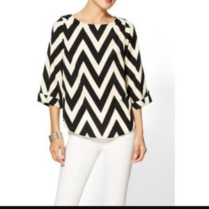 Modcloth/Everly Chevron blouse