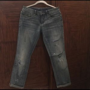 Blank NYC Boyfriend Distressed Jeans 26