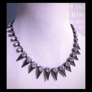 Francesca's Collections Jewelry - Spikes Glam Choker