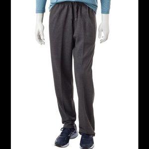Spalding Other - SPALDING Men's Fleece Pants Heather Black (Grey)