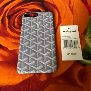 Goyard Accessories - Brand new goyard case for iPhone 6/6s +, 7 & 7Plus