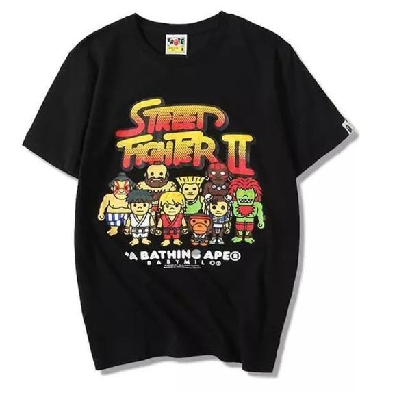 23a8ac31d Bathing Ape Shirts | Baby Milo X Street Fighter | Poshmark