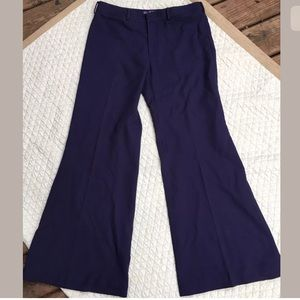 Ralph Lauren Purple Label Pants - Ralph Lauren Purple Label Size 8 Trousers Wide Leg