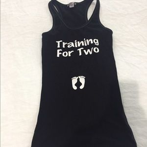 Tops - Training for two maternity tank