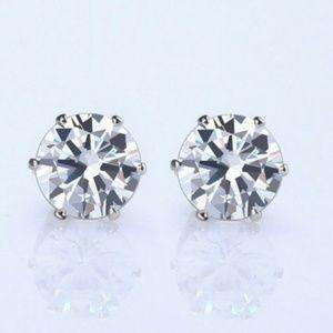 Jewelry - Silver CZ studs