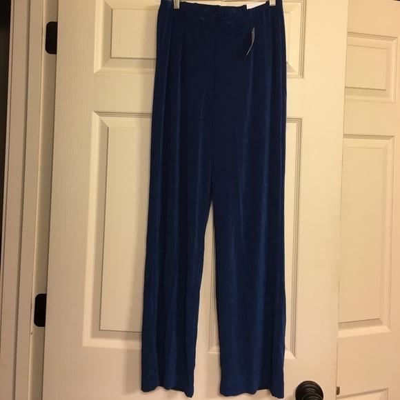 7d1e70dd03b078 Coldwater Creek Pants | Travel Knit Holly Pant Blue | Poshmark