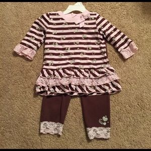 24 month girls outfit!
