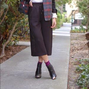 H&M Shoes - H&M trendy silver cap toe booties