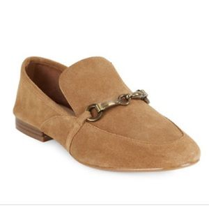 Tan suede loafers New size 6