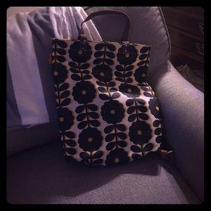 Orla Keily Handbags - Orla Kiely yellow flower tote