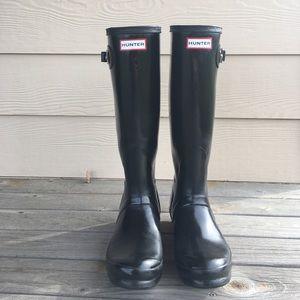 ☔️ Hunter Original Tall Gloss Rainboots
