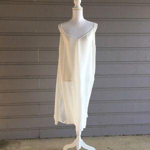 ASOS Curve Tops - Sheer white ASOS tunic top
