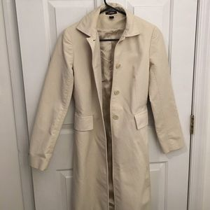 Express trench coat xs