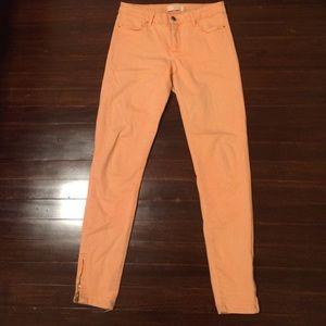 Zara spring pants- Zara skinny demin stretch pants