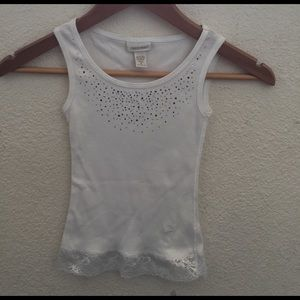 limited too Other - Girl's limited too size 6tank top with lace