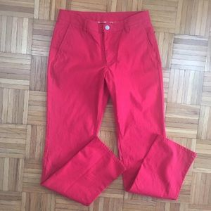 Bonobos Other - Bonobos Washed Chinos Straight Fit Men's 31/34 Red