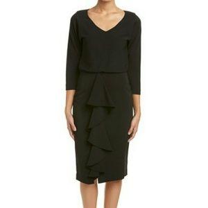 Badgley Mischka classic black dress