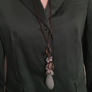 Chico's Jewelry - CHICO'S LONG GREEN NECKLACE