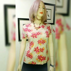 croft & barrow Tops - Pretty Floral T-shirt