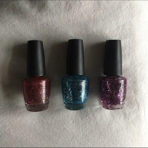 OPI Other - Glitter OPI nail polish bundle
