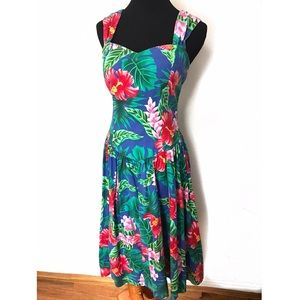Vintage Hawaiian Sun Dress