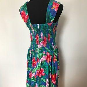Vintage Dresses - Vintage Hawaiian Sun Dress