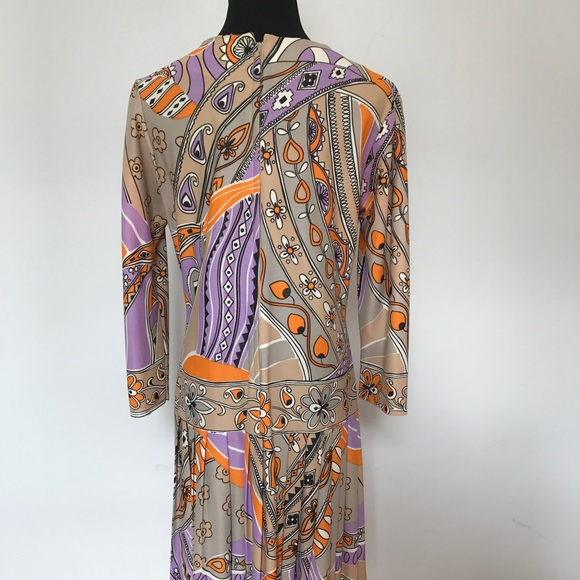 Emilio Pucci Dresses - Vintage home made pucci tribute dress