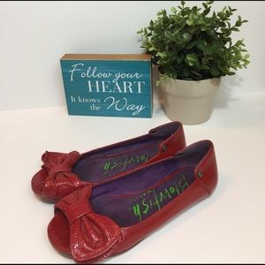 Blowfish Shoes - Blowfish red flats
