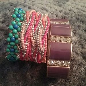 Jewelry - J.crew bracelet bundle get all 3