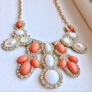 J. Crew Jewelry - LIKE NEW! Chunky Jeweled Statement Necklace
