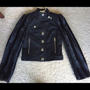 Juicy Couture Jackets & Blazers - Juicy Couture black wool blend coat sz S