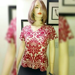 Gloria Vanderbilt Tops - Pretty Patterned Top
