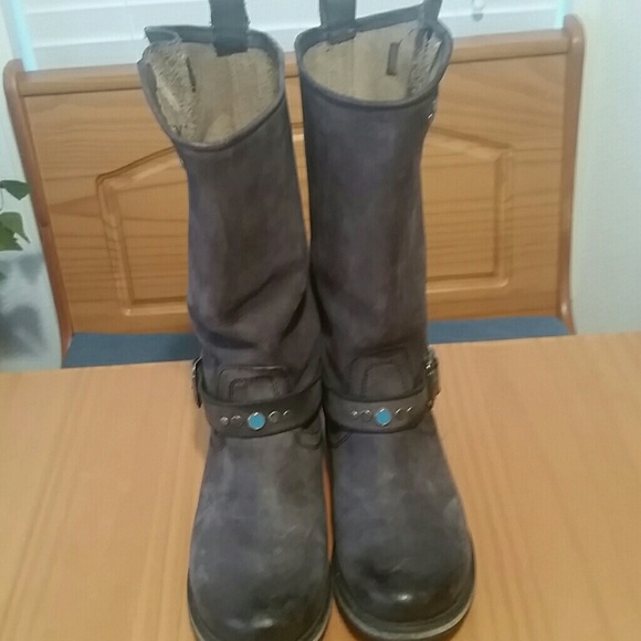 711246d0769 Steve Madden Leather Fabble Boots - Women s 8 M