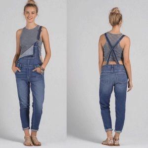 Abercrombie & Fitch Denim - Abercrombie & Finch jean denim overalls
