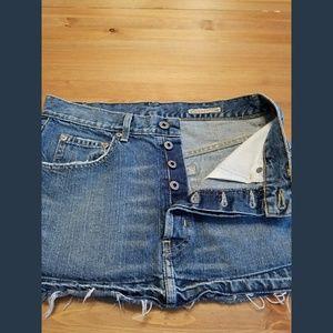Chip and Pepper L.A. Dresses & Skirts - Chip and Pepper LA Distressed Denim Mini SZ 26
