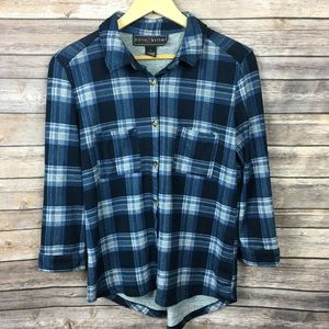 Polly & Esther Tops - Polly&Esther Flannel Shirt
