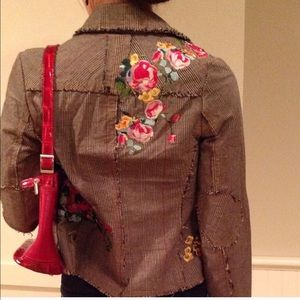 Jackets & Coats - Beautiful jacket fully lined embroidered flowers