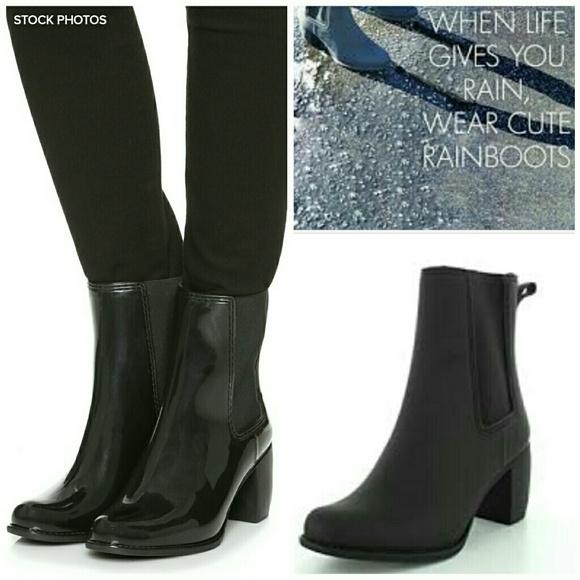 267f9deb40b6 Jeffrey Campbell Shoes -  Jeffrey Campbell  Clima Chelsea Rain Boot