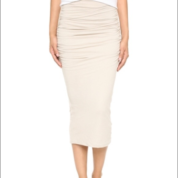 27e51d31b James Perse Skirts | Nwt Shirred Tube Skirt Jp Size 1 S | Poshmark