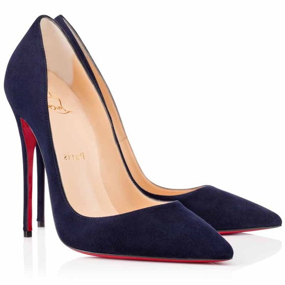 rencontrer b0f69 c5fc5 Christian Louboutin So Kate Suede Nuit 120mm NWT