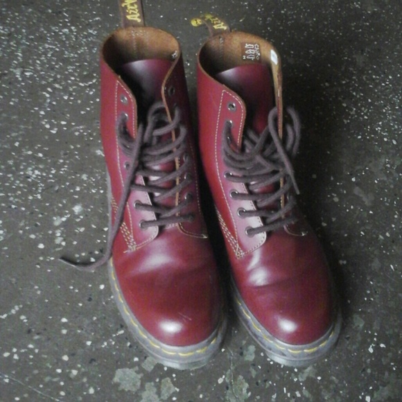 Dr Martens 1460 Made in England Vintage Oxblood. Will they