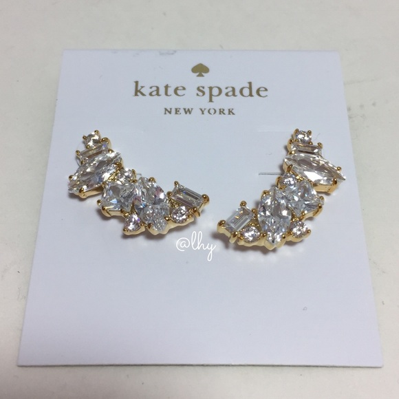 latest discount united kingdom new arrive kate spade Jewelry | Cluster Crawler Earrings | Poshmark