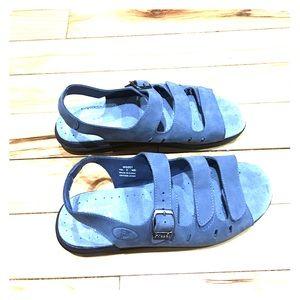 Propet Shoes - Propet leather sandals blue comfortable sz 9 Med